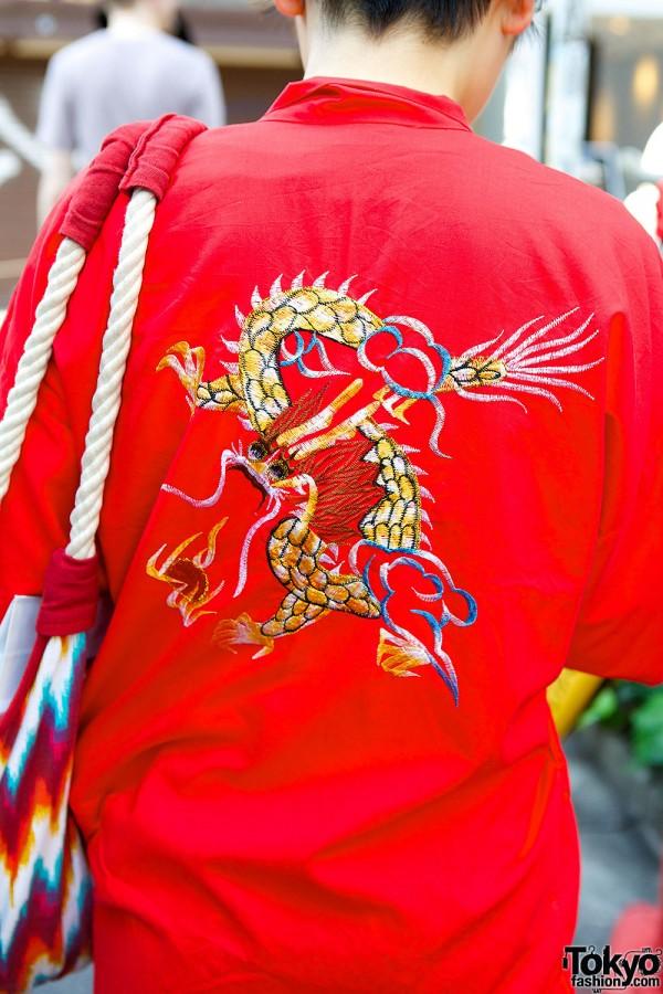 Dragon Back Harajuku Jacket