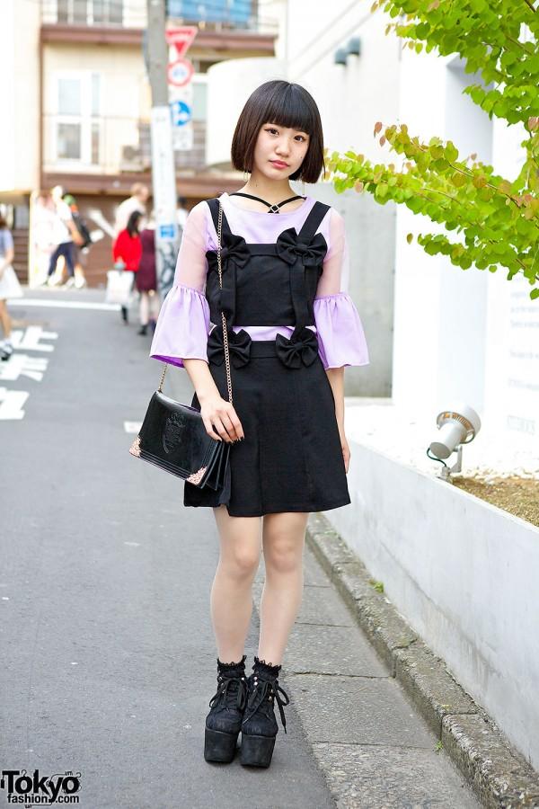 Romantic Standard Bow Dress & Blouse