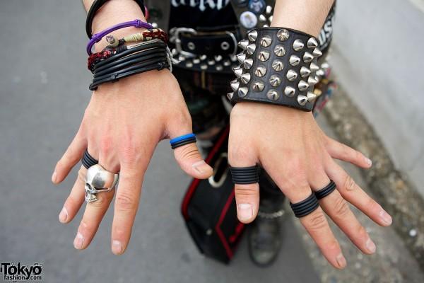 Studded & Rubber Bracelets