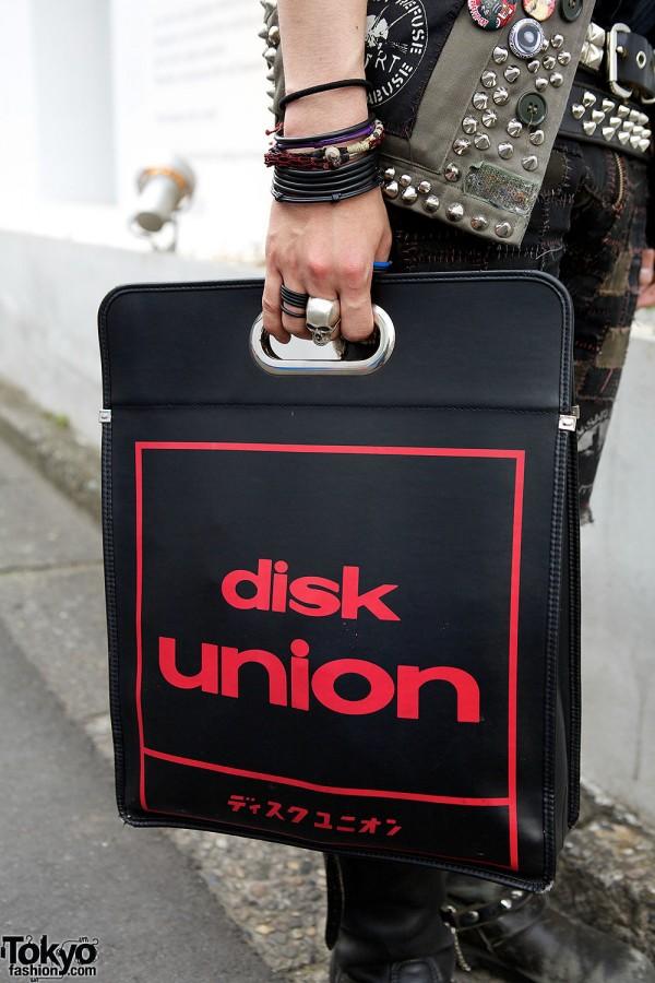 Disk Union Bag