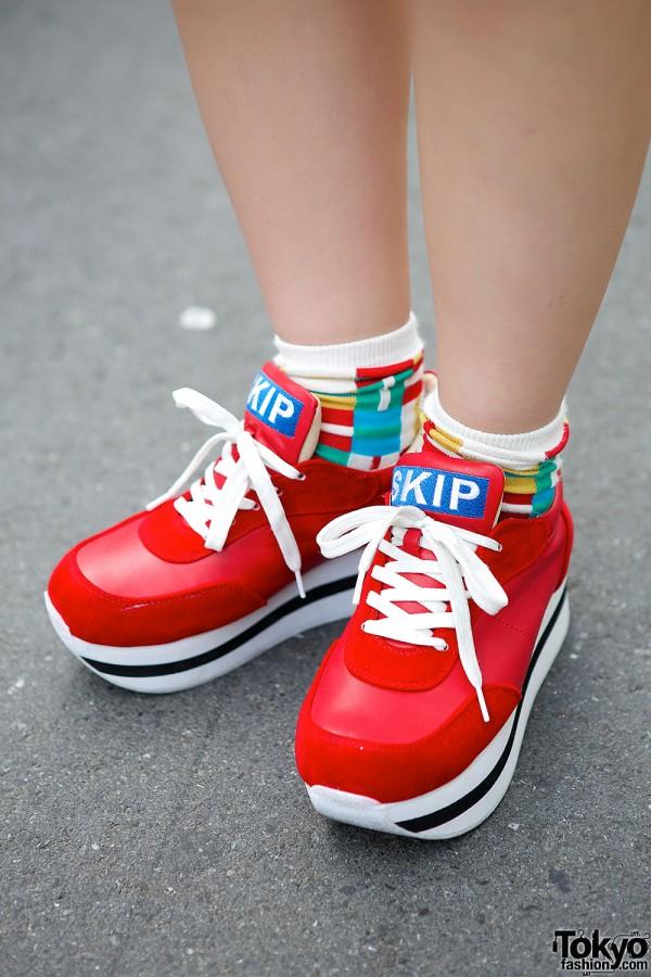 WEGO Platform Sneakers