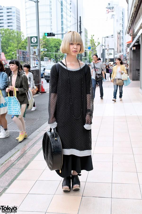 All Black Harajuku Style w/ Vivienne Westwood