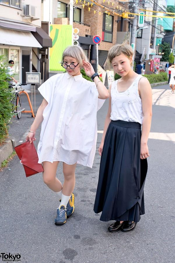 Nari & Naru – Cute Harajuku Twins in GVGV, Kenzo & Resale Fashion