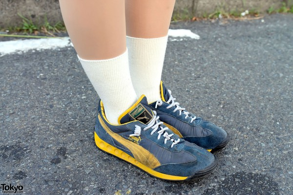 Retro Puma Sneakers on Cat Street