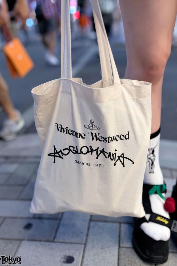 Vivienne Westwood Anglomania Tote Bag