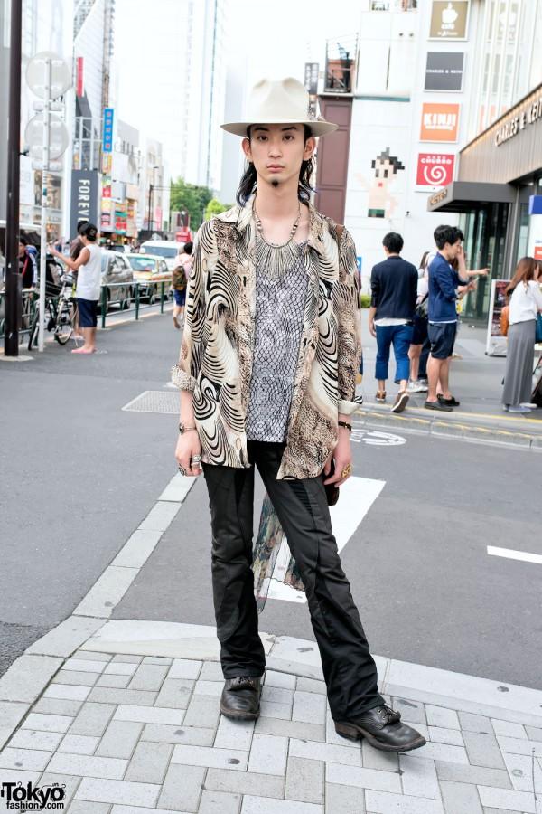 Harajuku Vintage Guy's Style