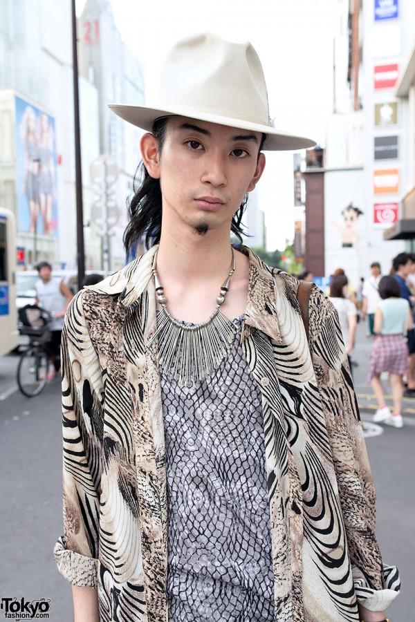 Vintage Hat & Fashion in Harajuku