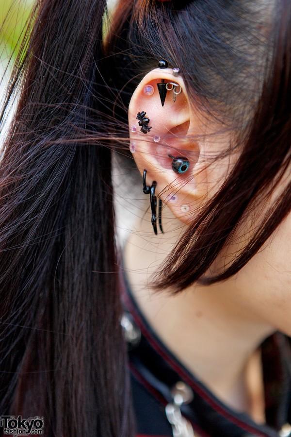 Eyeball & Spider Earrings