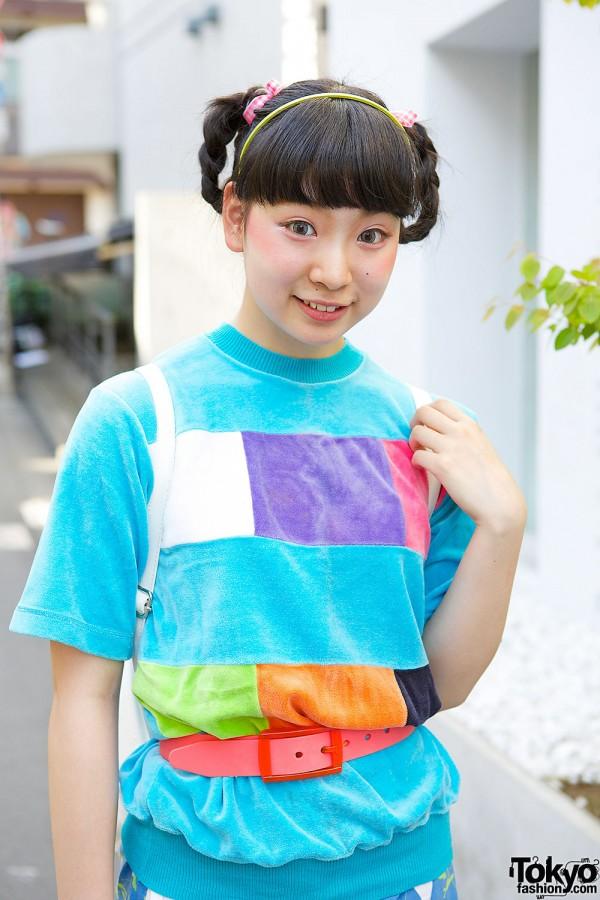 Colorful Kinji T-shirt