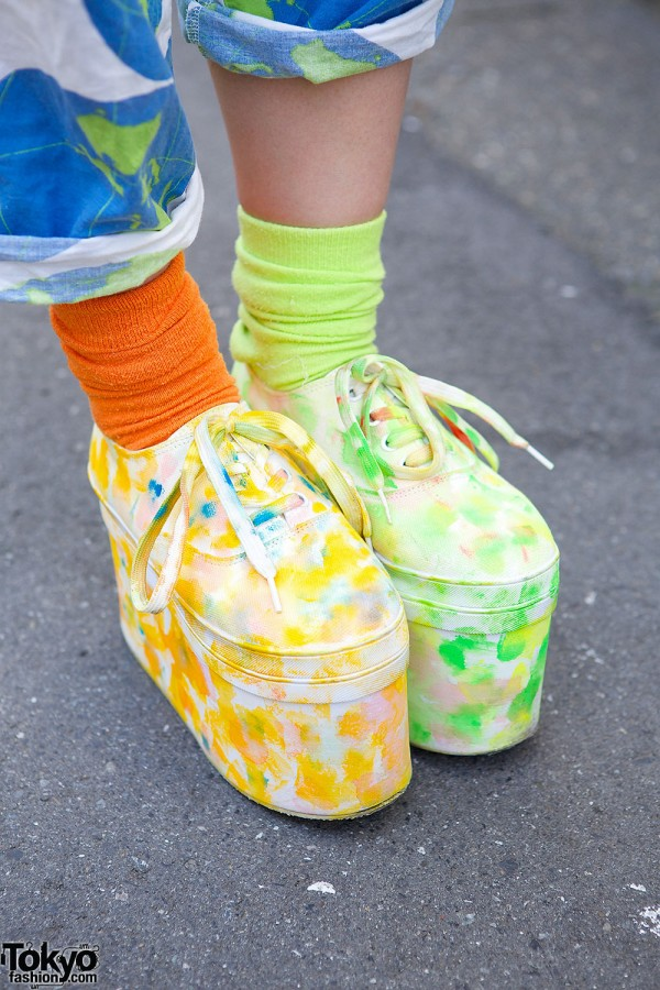 Spinns Platforms & Mismatched Socks
