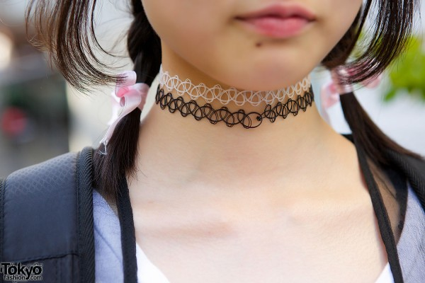 Two Tattoo Necklaces