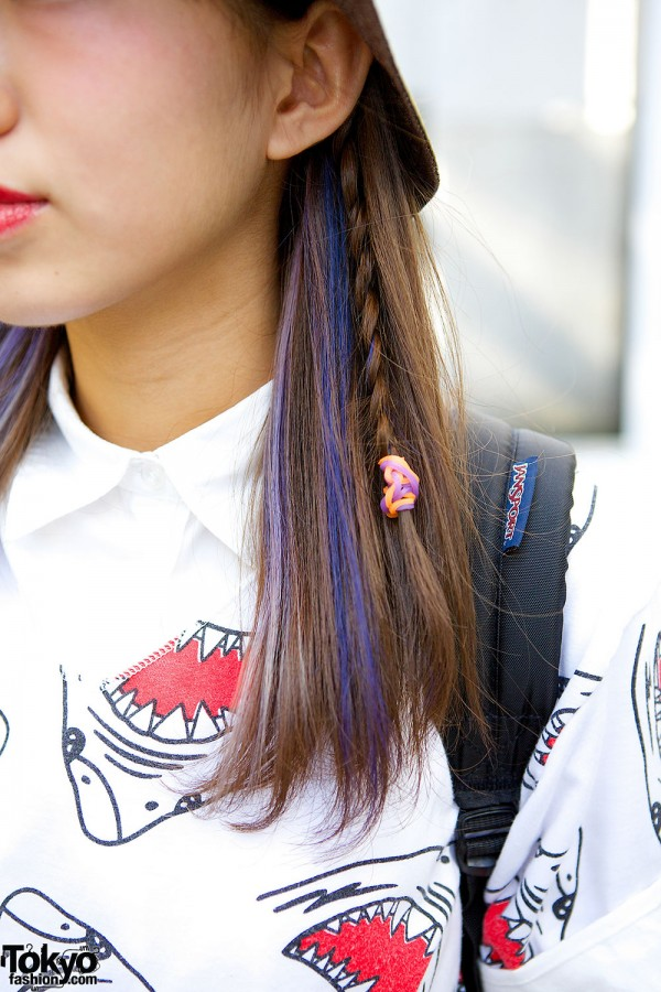 Purple Hair & Braids