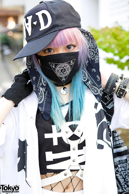 Qiss Qill Designer In Harajuku W Pink Blue Hair Fresh I