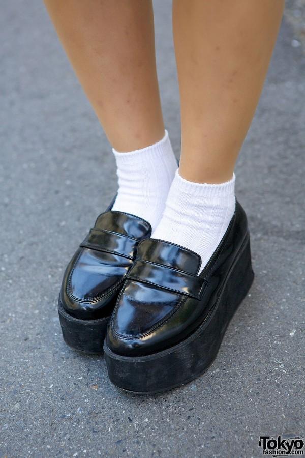 Emoda Platform Loafers