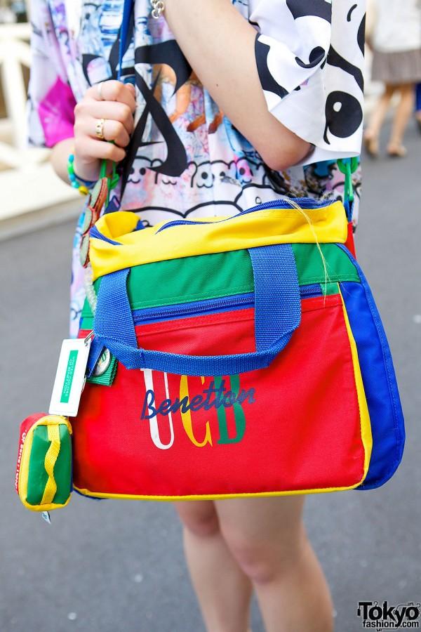 Elleanor S Rainbow Twin Tails R3id Top Amp Teva Sandals