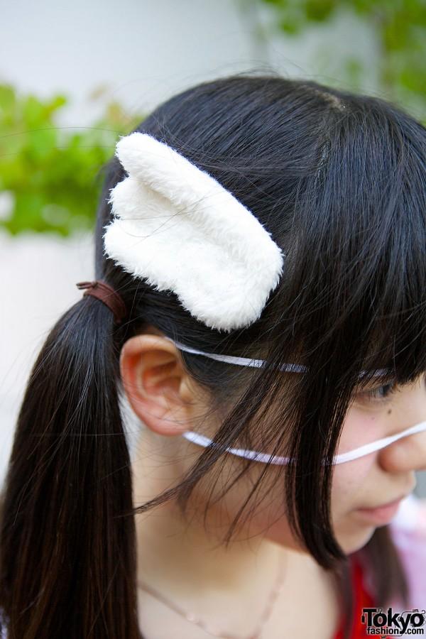 Furry Hair Pin