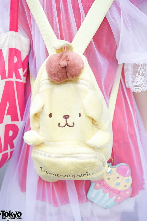 Pom Pom Purin Backpack