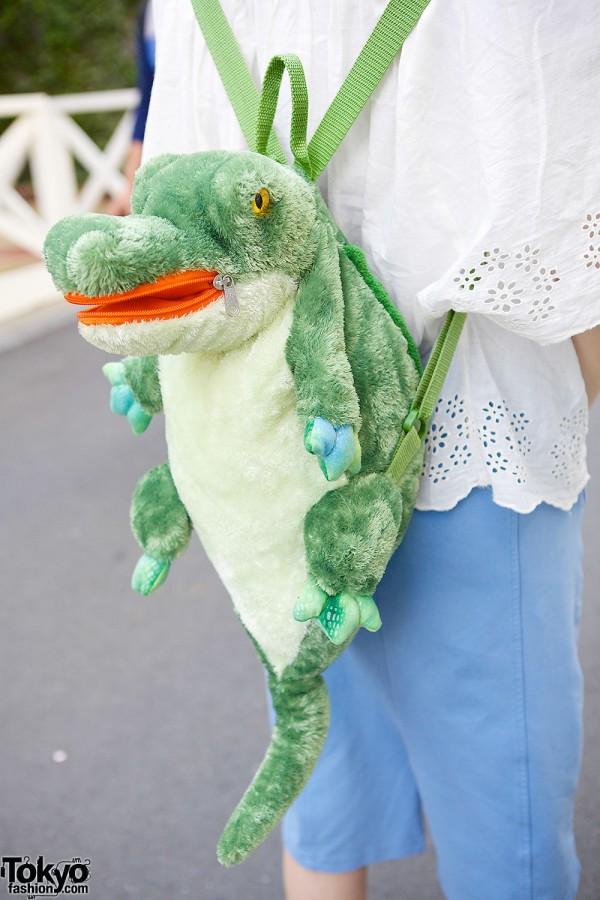 6%DOKIDOKI Crocodile Backpack