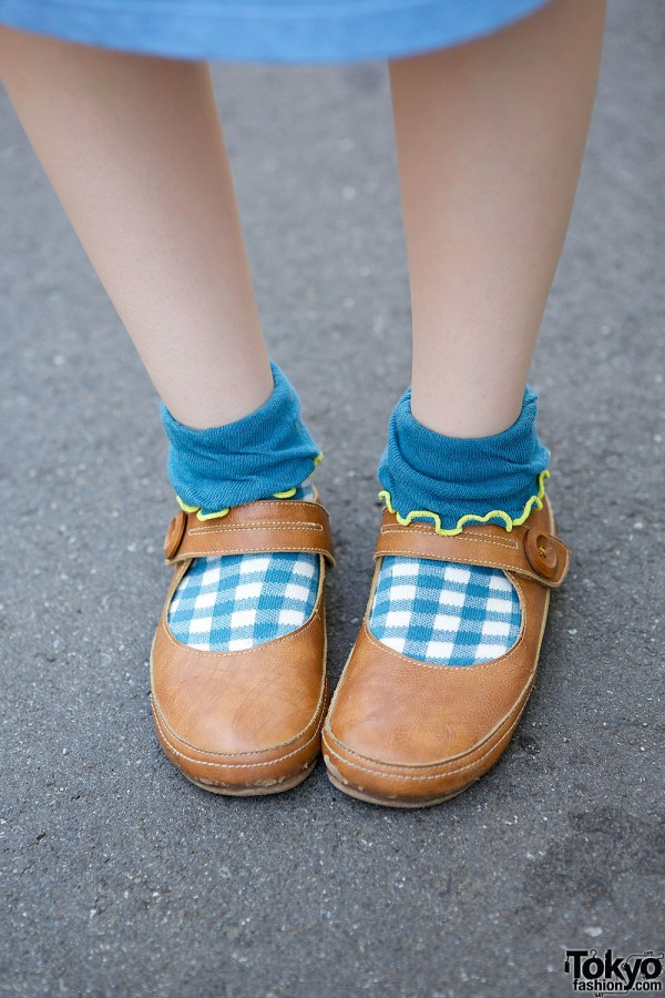 Mary-Janes with Socks