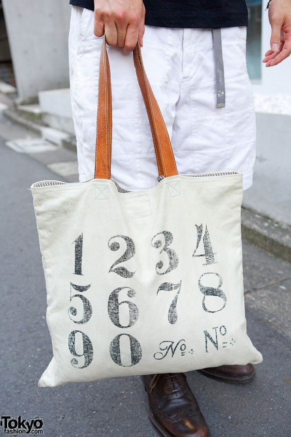 Resale Numbers Tote