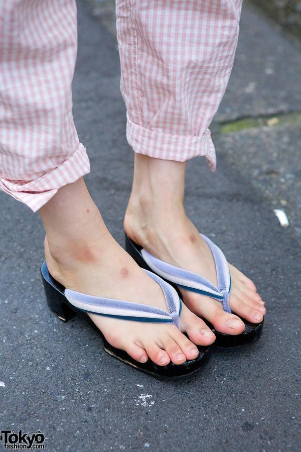 Harajuku Girls W I Tokyo Me Cheongsam Top Sandals
