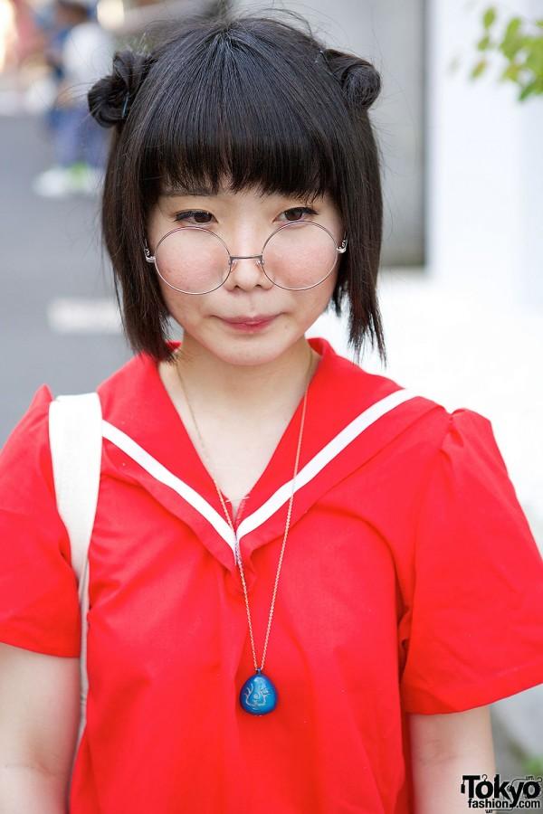 Harajuku Sailor Top