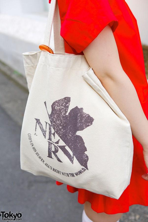Neon Genesis Evangelion Bag