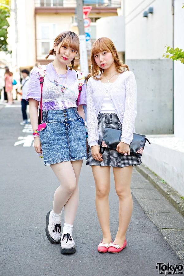 Harajuku Girls w/ Blonde Hair, Acid Wash, Sailor Moon, George Cox & Romantic Standard