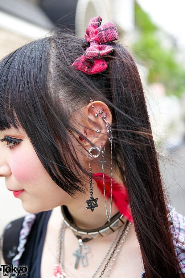 Hair Bows & Earrings