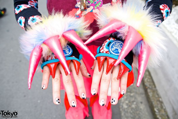 Takuya Angel Claw Arm Covers