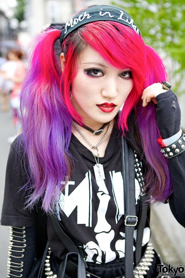 Pink & Purple Hair