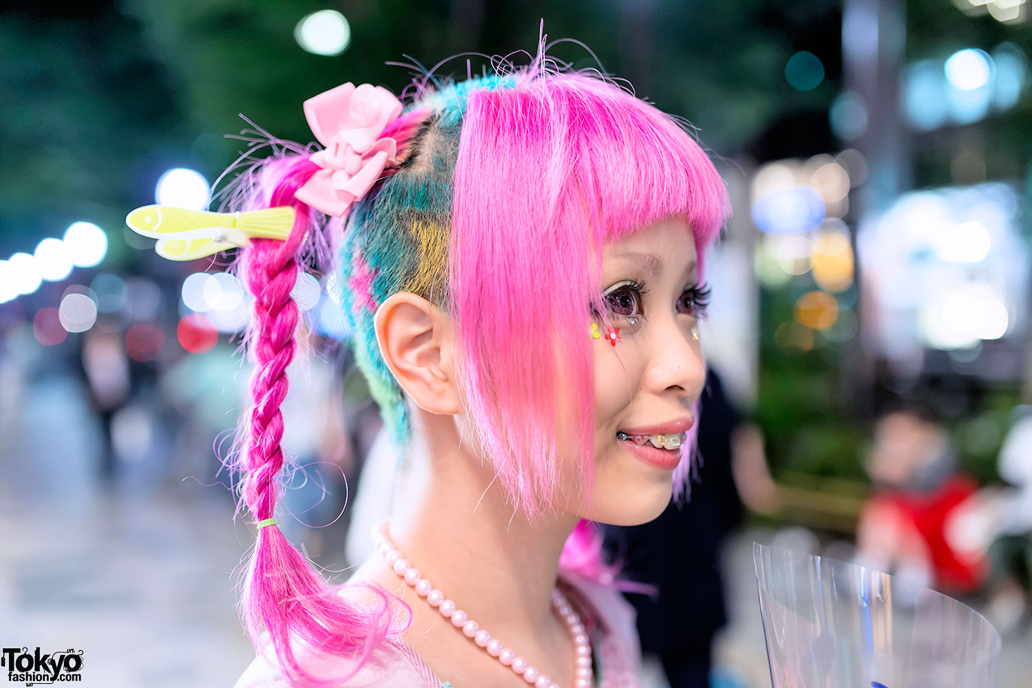 Haruka Kurebayashi W Quot Magical Girl Quot Dress Amp Pink Braids