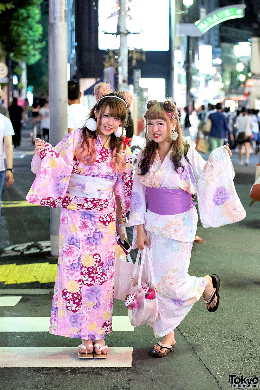Japanese Yukata In Harajuku 1 Tokyo Fashion News