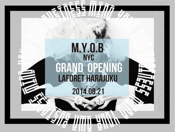 MYOB at LaForet Harajuku