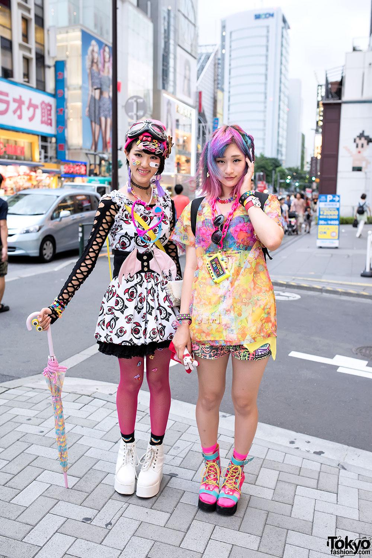 Colorful Harajuku Decora Girls W Omocha Party 6 Dokidoki