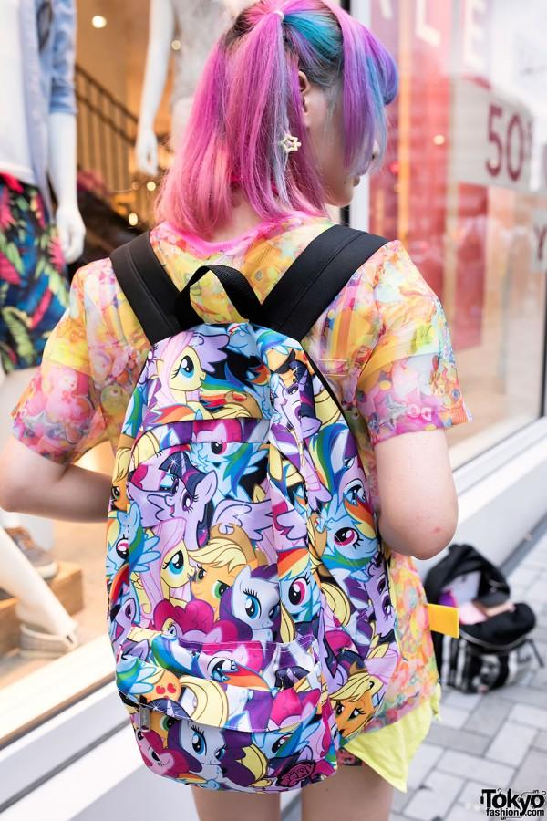 My Little Pony Harajuku Backpack