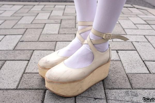 Over-The-Knee Socks & Tokyo Bopper Platforms