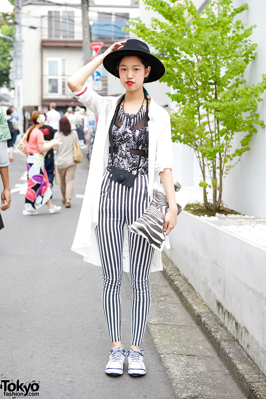 Emoda Vertical Stripe Pants
