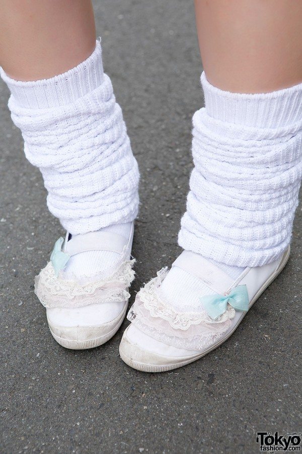 Remake Shoes & Leg Warmers