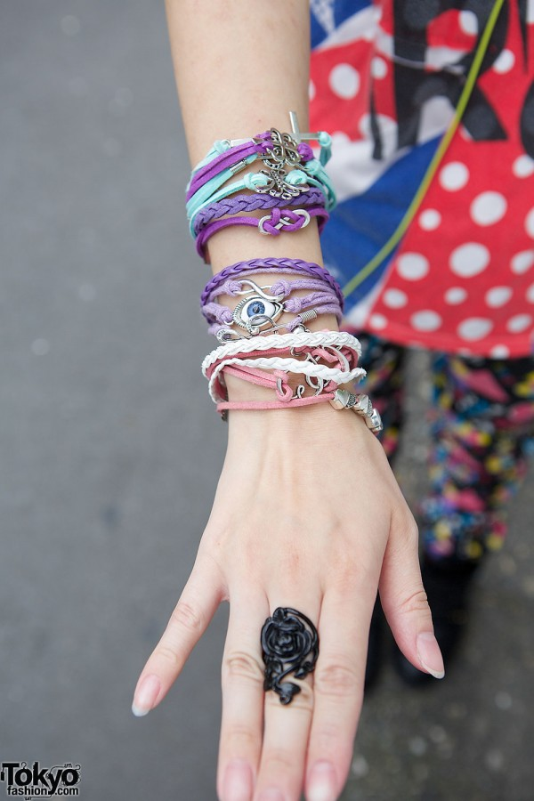 Noise & Kisses Ring & Lots of Bracelets