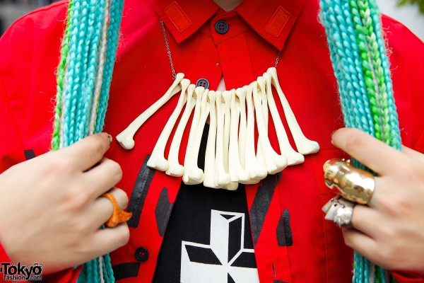 OS Accessories Bone Necklace