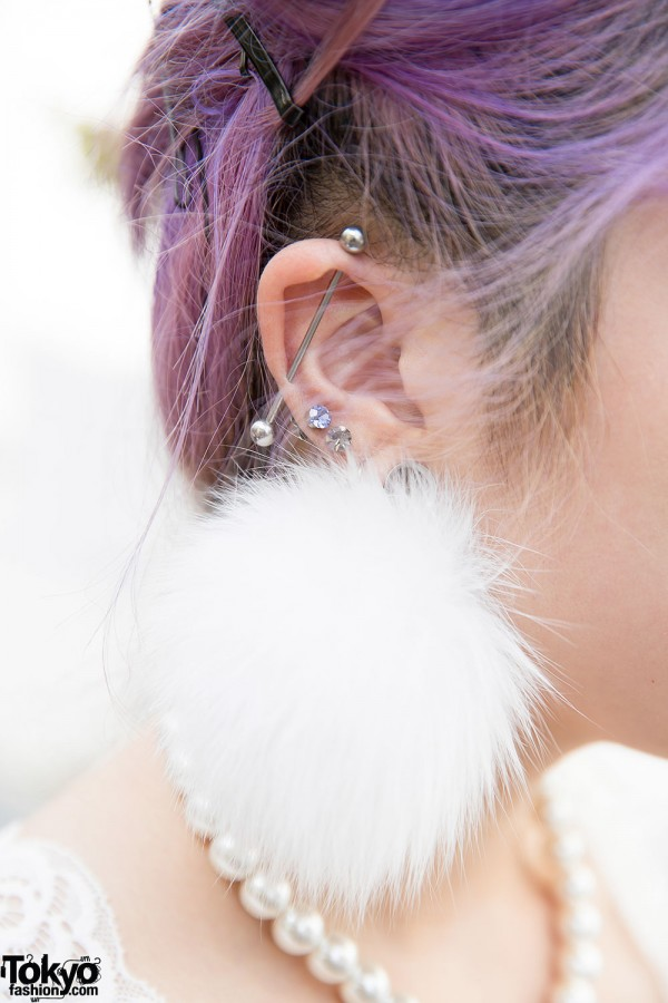 Pompom Earring