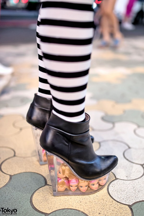 Jeffrey Cambell Doll Heads Platforms