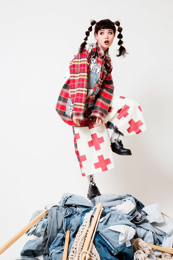 Japanese fashion brand heihei dalmatians a w 2014 Japanese clothing designers