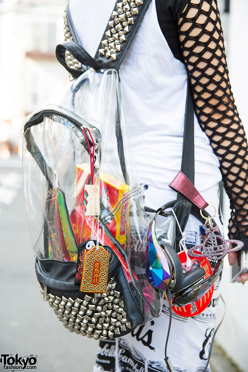 Clear Backpack & Mesh Sleeves – Tokyo Fashion News