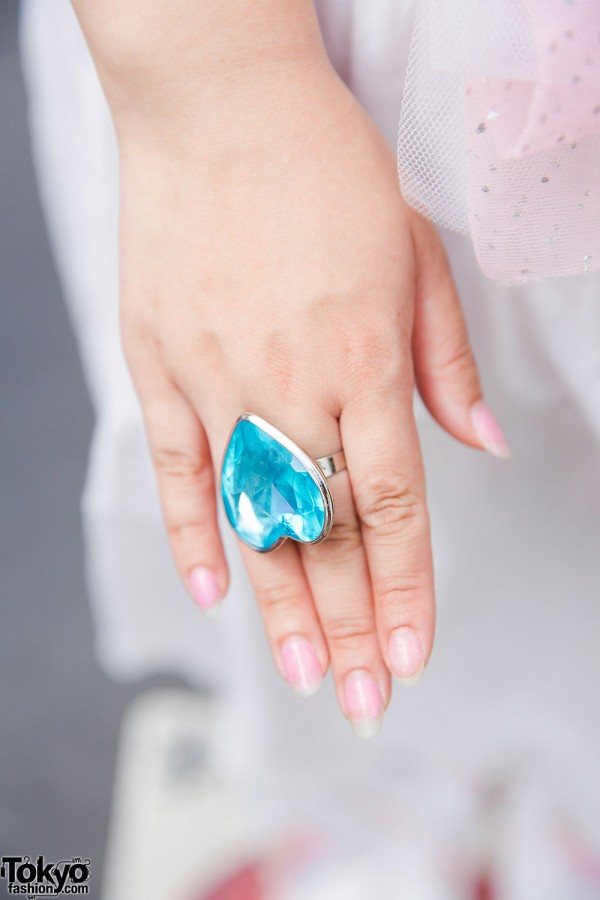 Giant Heart Shaped Ring