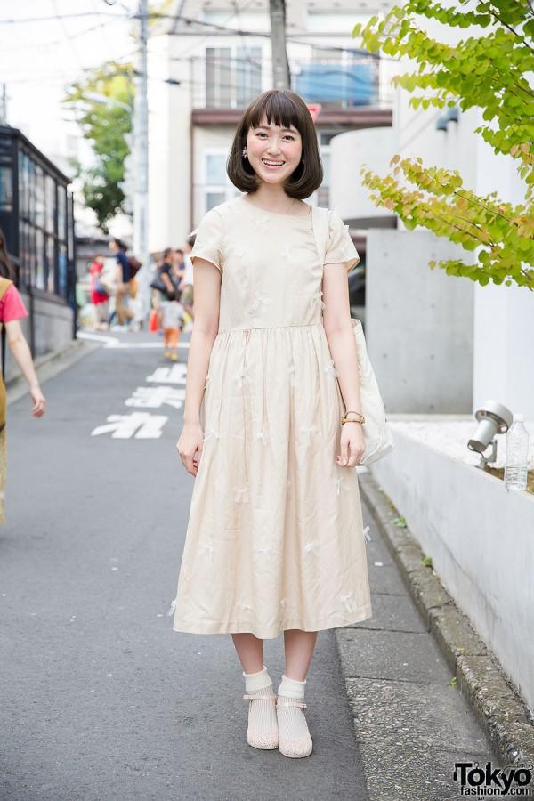 L'atelier du Savon Dress w/ Theatre Products & Tsumori Chisato in Harajuku