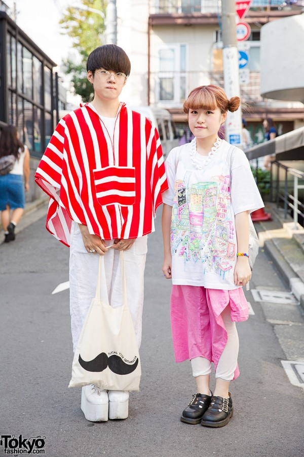 Harajuku Guy & Girl in Resale Tops