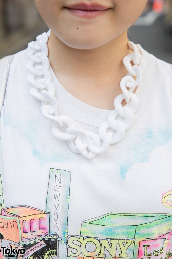 Plastic Chain Necklace