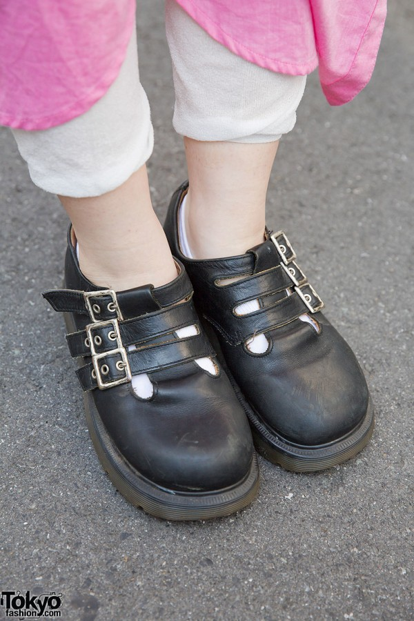 Dr. Martens Buckle Shoes